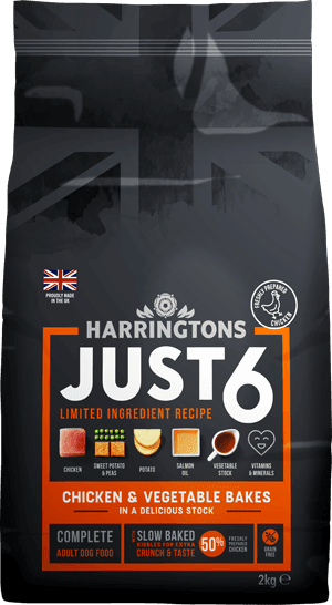 Harringtons Just 6 Chicken and vegetable bakes
